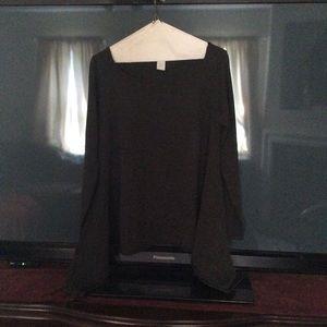 Design History Gray Long Sleeve Sweater, Sz M